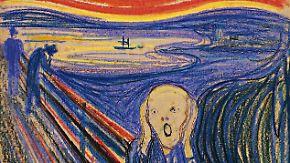 """""""Der Schrei"""" war für einen deutschen Kaufmann gemalt worden."""