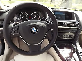 Wie bei BMW üblich, gibt es optional viele (teure) Ausstattungen.
