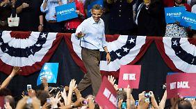 Wahlkampf in den USA: Obama geht in die Vollen