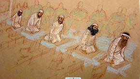 9/11-Verfahren beginnt: Terrorverdächtige schweigen eisern