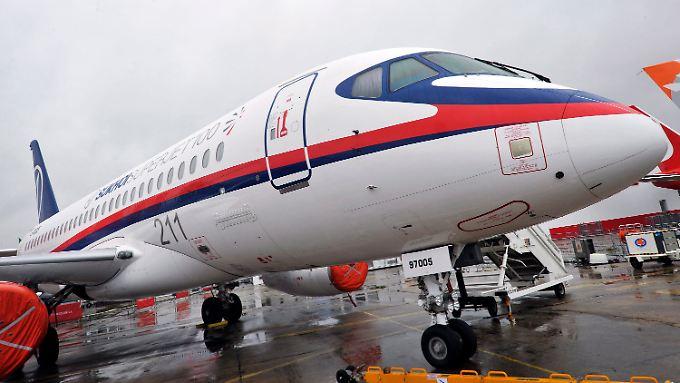 Der russische Superjet 100 sollte eine echte Konkurrenz auf dem Weltmarkt werden.