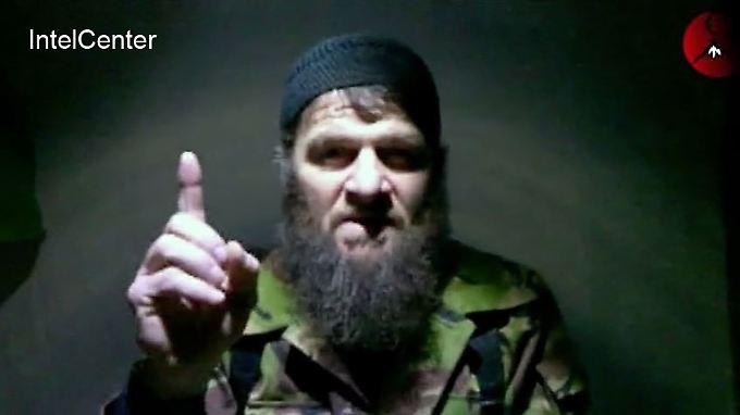 Doku Umarow soll der Bin Laden Moskaus sein und auch Attentate gegen Putin geplant haben.