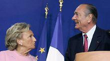 Bernadette Chirac hat die Nase offenbar voll.
