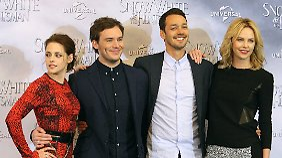 Der Regisseur Rupert Sanders (2.v.r.) drehte bisher nur Kurzfilme und Commercials.