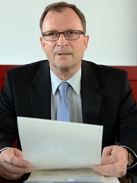 Hans E. Lorenz sitzt dem DFB-Sportgericht vor.