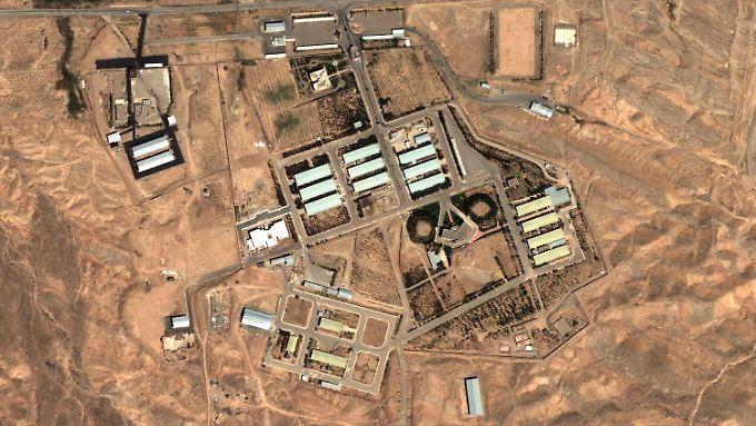 In der Nähe von Teheran liegt die Atomanlage Parchin. Auch um sie dürften die Verhandlungen der IAEA mit Iran kreisen.