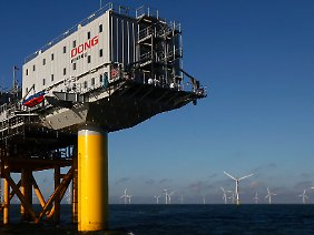 """Horn Rev 2"", der weltgrößte Offshore-Windpark gehört der Konkurrenz."