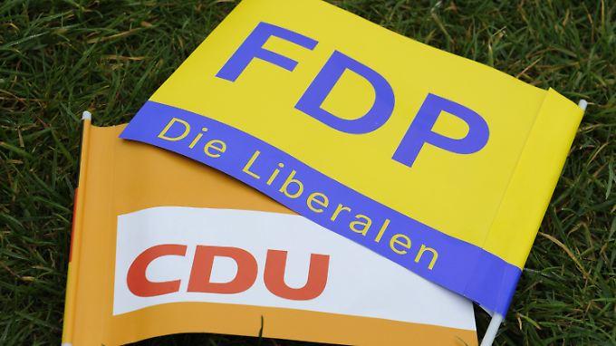 CDU und FDP erwischt es besonders schwer.