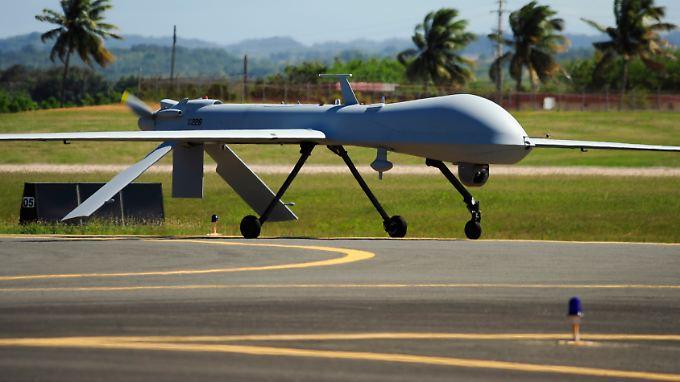 Drohnen wie diese vom Typ RQ-1 Predator werden auch in Pakistan und Afghanistan eingesetzt.