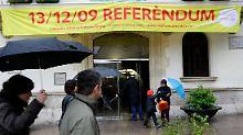 Einwohner aus 170 Städten und Dörfern waren zur Wahl aufgerufen.