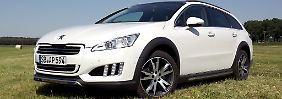 Der Peugeot 508 RXH vermittelt einen Hauch von Abenteuer und beruhigt das grüne Gewissen.
