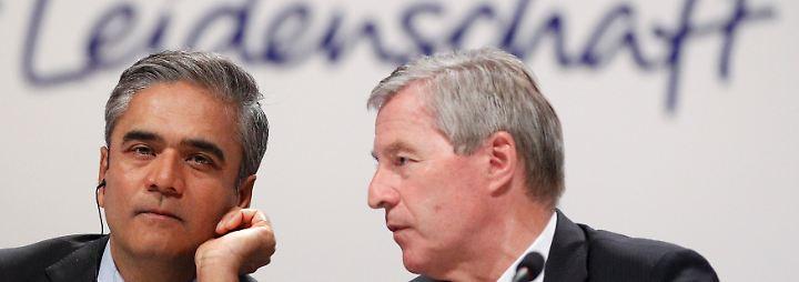 Jain und Fitschen machen die Doppelspitze: Der neue Mix der Deutschen Bank