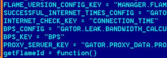 Auszüge aus dem von Kaspersky veröffentlichten Flame-Code.