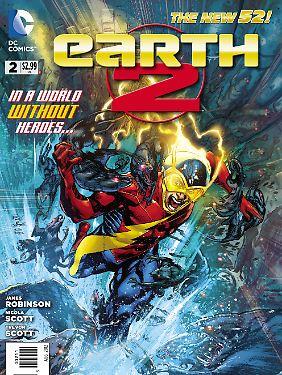 """Alan Scott alias Green Lantern in der neuen Ausgabe von """"Earth 2""""."""