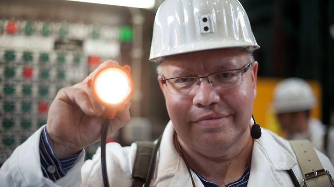 Kurz nach seinem Amtsantritt machte Umweltminister Altmaier deutlich, dass er sich dem Thema Atommüll schnell widmen will. Er besuchte das Lager Asse.
