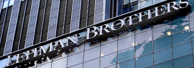 Lehman Brothers war im September 2008 zusammengebrochen.