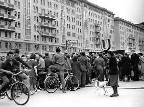 Am 16. Juni am Strausberger Platz. Hier war auch Klaus Gronau unterwegs.