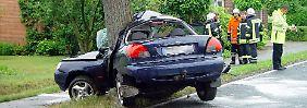 Bei diesem Unfall in Hunteburg starb die Fahrerin.