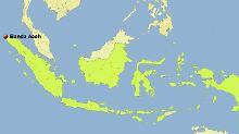 Keine Tsunami-Warnung: Erdbeben erschüttert Aceh