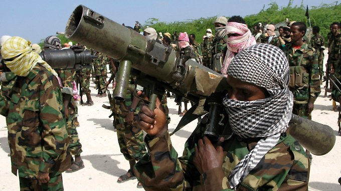 Die somalische Al-Shabaab-Miliz: Die Waffen sollen aus dem Jemen stammen.