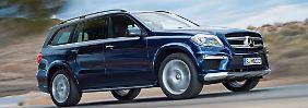 Luxus fürs Gelände: Neuer Mercedes GL wird günstiger