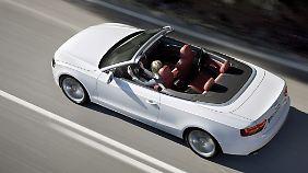 Der Audi A5 ist auch als Cabrio zu haben.
