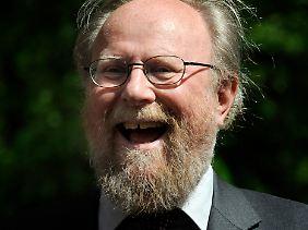Der Mann mit dem Fusselbart war 24 Jahre im Bundestag.