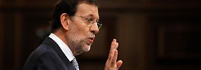 Mariano Rajoy lässt sich nicht in die Karten gucken.