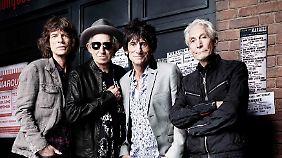Ein halbes Jahrhundert Rockgeschichte: Rolling Stones feiern 50.