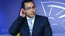 Kritiker werfen Ponta eine massive Aushebelung des Rechtsstaates vor.