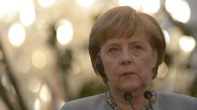 Wahlkampf in Europa: Merkel macht Euro zum Thema