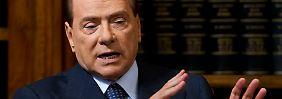 """Berlusconi: """"Über die Feiern, die unter dem Begriff Bunga Bunga bekannt wurden, wird viel fantasiert."""""""