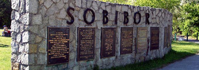 Mahnmal am ehemaligen Vernichtungslager Sobibor.