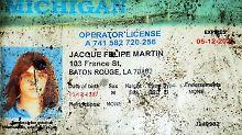 Diesen gefälschten Führerschein trug der Attentäter als Ausweis bei sich.