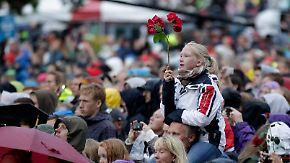 77 Tote vor einem Jahr: Norwegen gedenkt der Breivik-Opfer