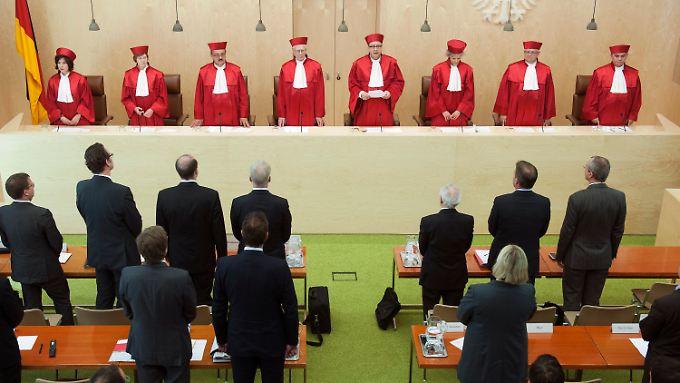 Das Bundesverfassungsgericht hat seine Geduld verloren.