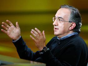 Wütend auf Volkswagen: Fiat-Chef Sergio Marchionne.