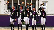Der goldene olympische Dienstag: Reiter lassen Fans jubeln
