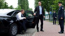 Künftig empfängt ein neuer Polzeichef Innenminister Friedrich.