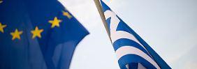 Motivation für weiteres Sparen: Troika lobt Griechenland