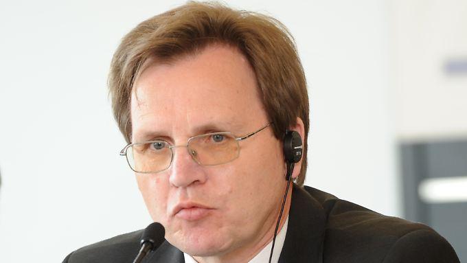 Aller Anfang ist schwer: Norbert Scheuch