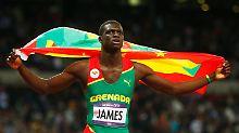 Grenadas Goldjunge heißt Kirani James.