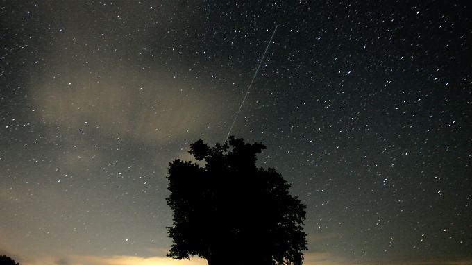 Vom 16. bis 25. April sind die Sternschnuppen der Lyriden zu erwarten.