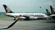 Ein A380 der Singapore Airlines.