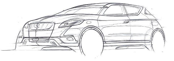 Weltpremiere auf dem Pariser Autosalon: Der Suzuki Concept S-Cross