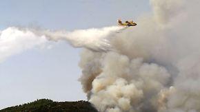 Waldbrände in Spanien: Lage auf Kanaren ist dramatisch