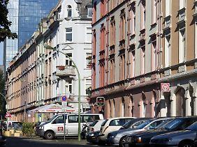 """""""Gentrifizierung"""" im Nordend von Frankfurt am Main: In Städten werden über den Preis immer mehr einkommensschwache Menschen an die Peripherie abgedrängt."""