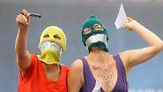 Die Welt ist empört: Free Pussy Riot