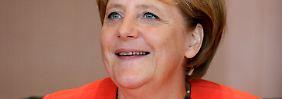Angela Merkel verweist Hillary Clinton und Dilma Rousseff auf die Plätze.