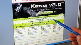 Der Student hatte die Peer-to-Peer-Börse Kazaa genutzt.